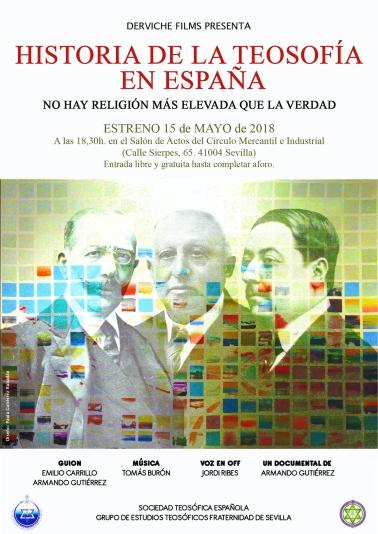Cartel Película Historia de la Teosofía en España